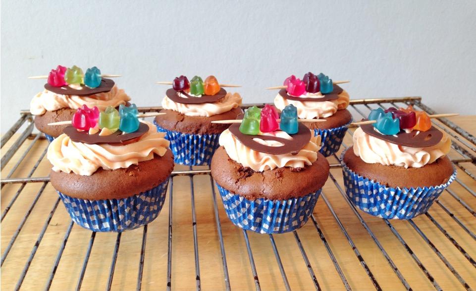 Cupcakes Schoko