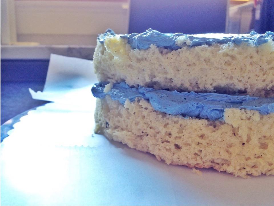 Blaue Torte Rezept