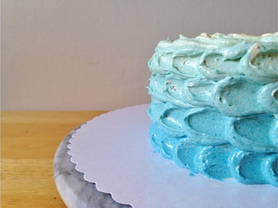 Ombre Kuchen Rezept