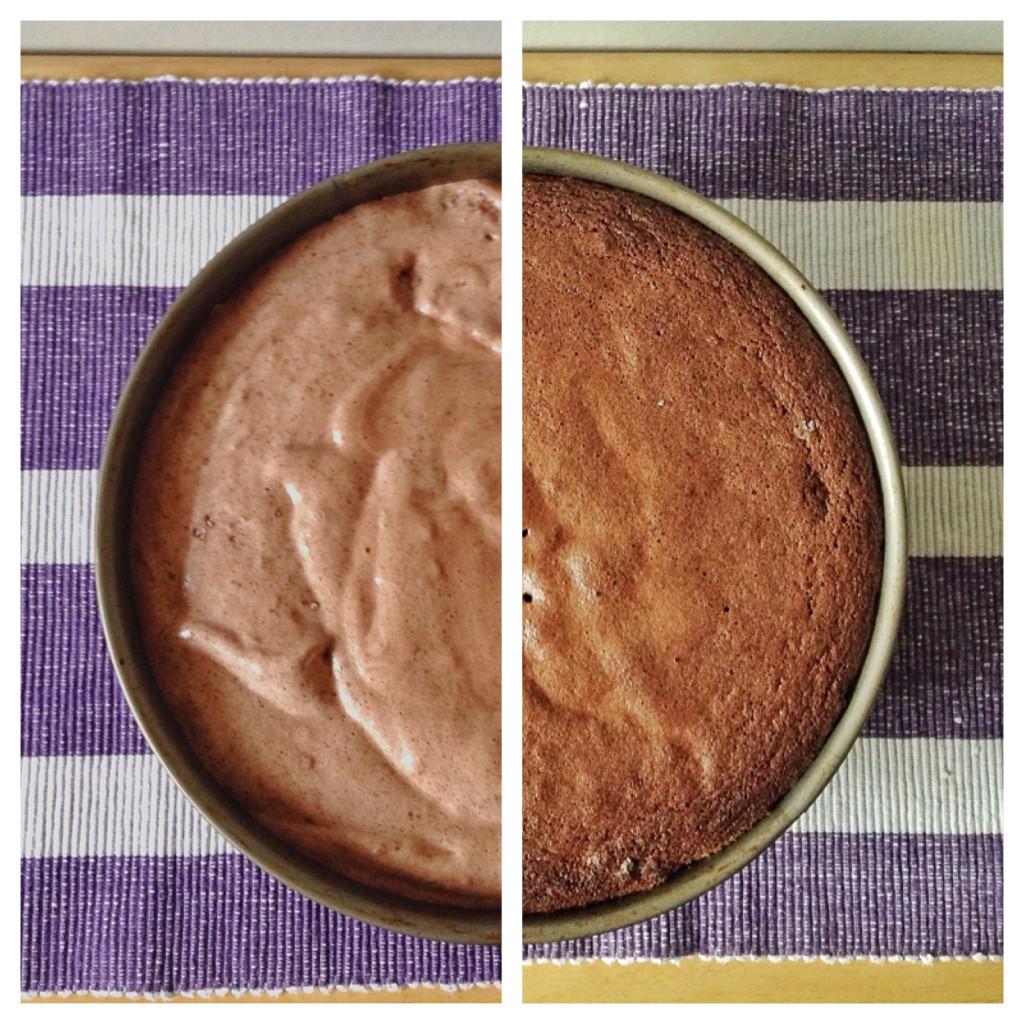 Puddingtorte Teig
