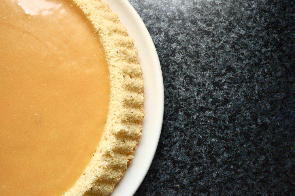 Karamell-Kuchen Füllung