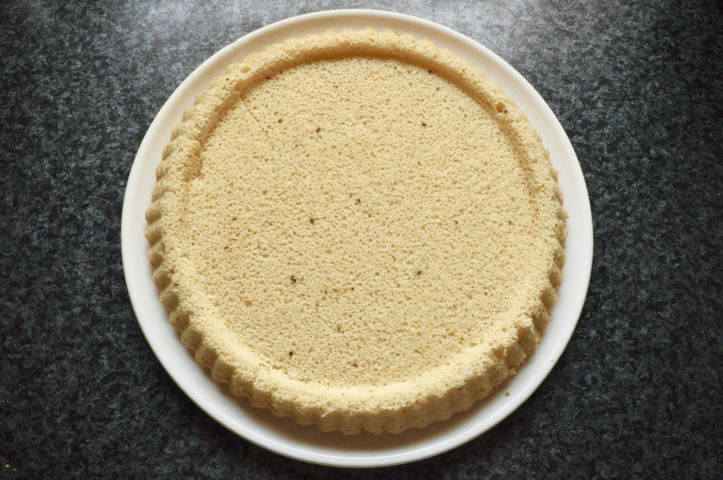 Karamell-Kuchen Kuchenboden