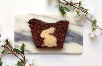 Rezept zum Osterfest Teil II: Zweifarbiger Osterhasen-Kuchen