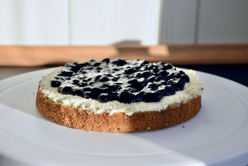 Raffaello-Torte Schritt 1