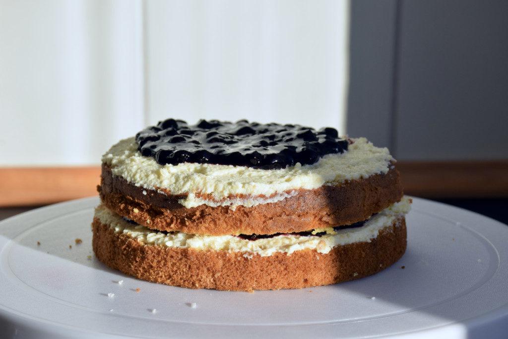 Raffaello-Torte Schritt 2