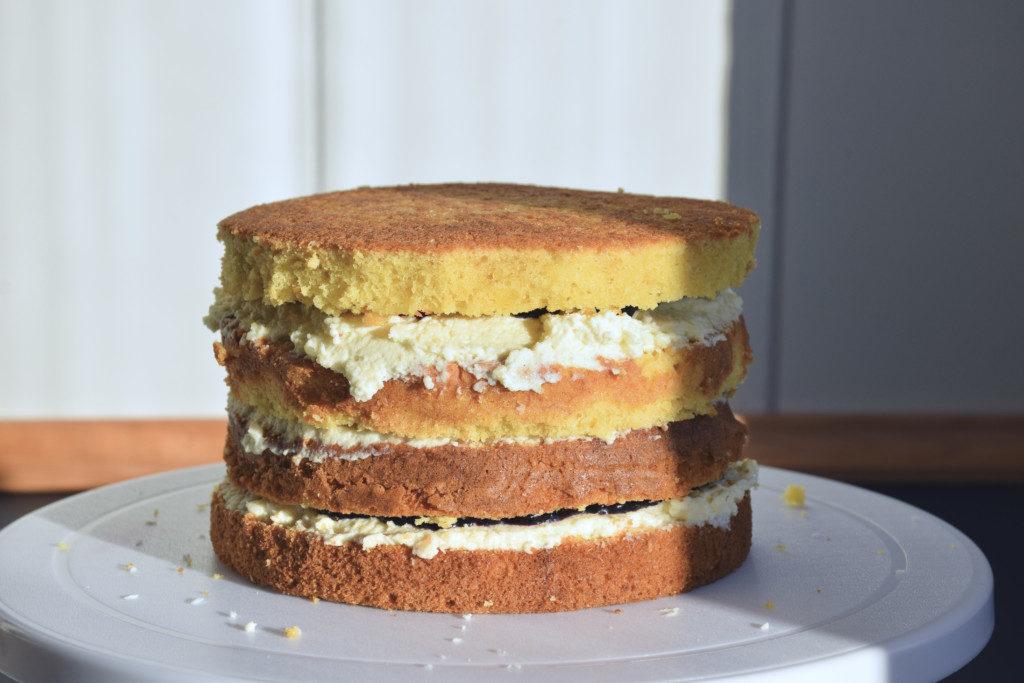 Raffaello-Torte Schritt 3