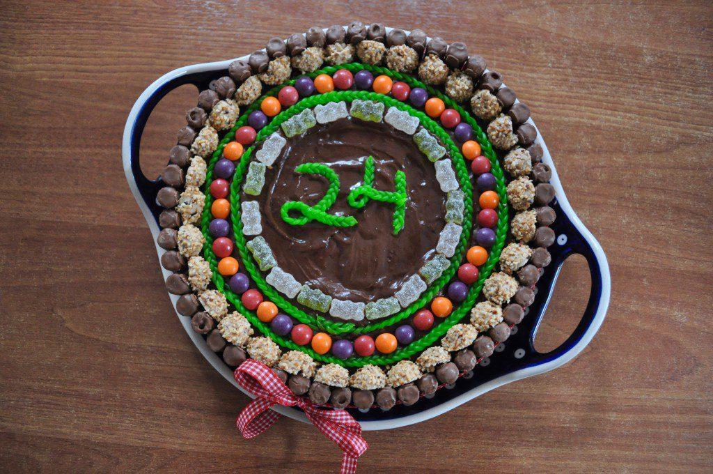 Süßigkeiten-Torte