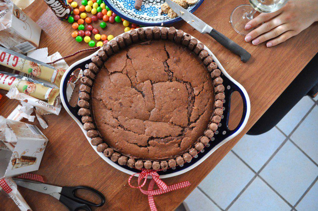 Rezept für eine Süßigkeiten-Torte