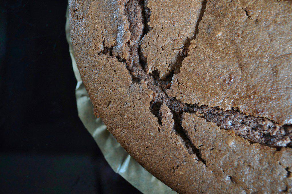 Süßigkeiten-Torte Schokoladenteig