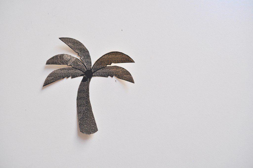 Strand-Torte Palme