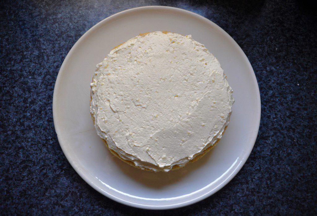 Strand-Torte Schritt 2