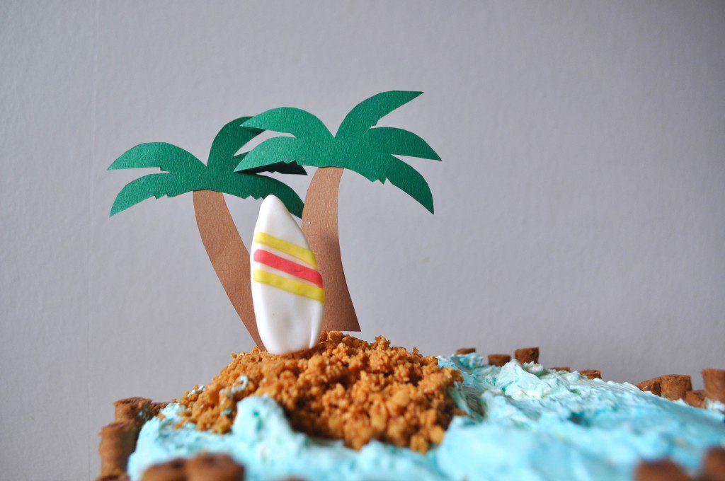 Strand-Torte Surfboard