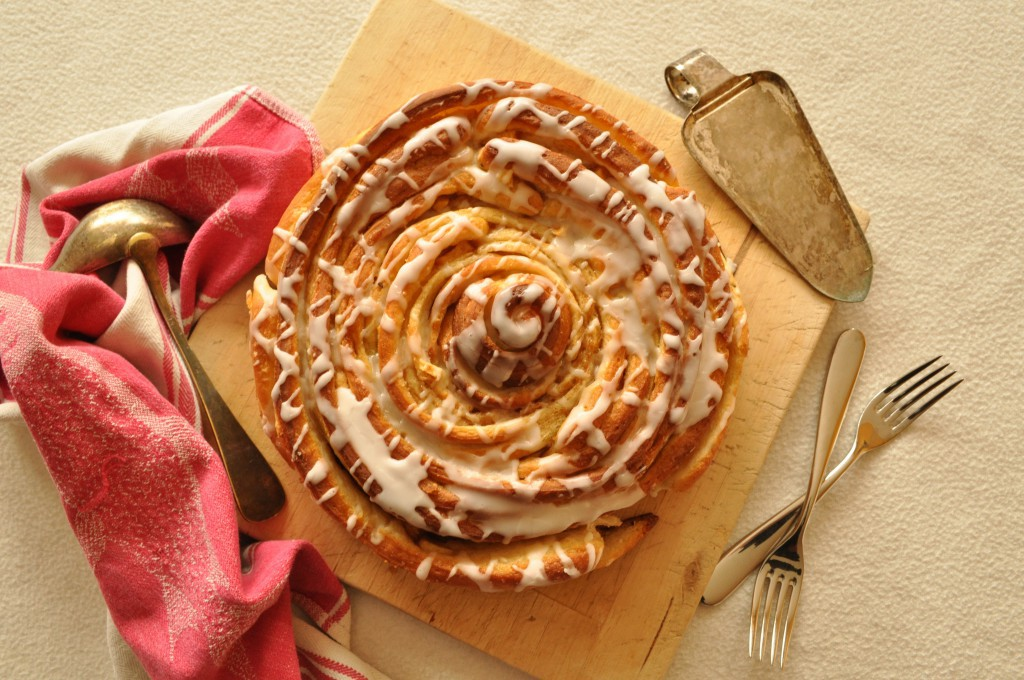 Zimtrollen-Kuchen