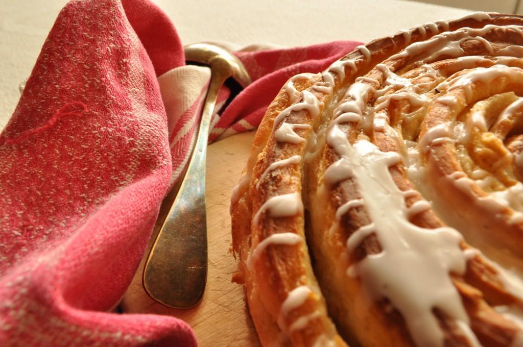 Zimtrollen-Kuchen Rezept