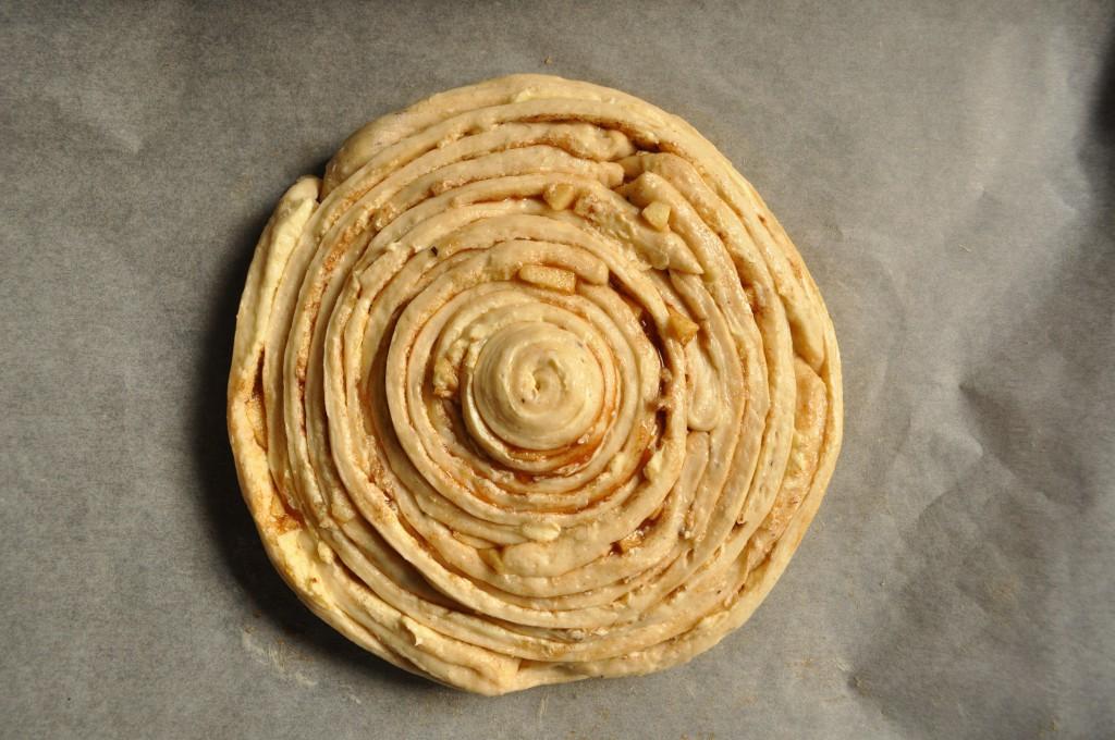 Zimtrollen-Kuchen Schritt 3