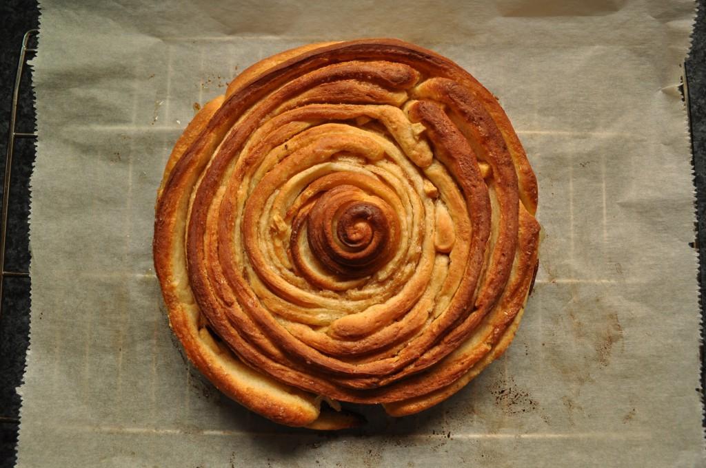 Zimtrollen-Kuchen Schritt 4